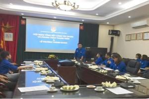 Hội nghị tổng kết công tác Đoàn - Phong trào Thanh niên năm 2017 và lễ trưởng thành Đoàn